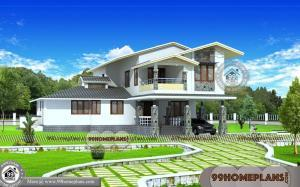 Indian House Design Online 90+ 2 Storey House Designs With Balcony