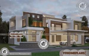 Indian House Models for Construction & 80+ 2 Floor House Plans Ideas