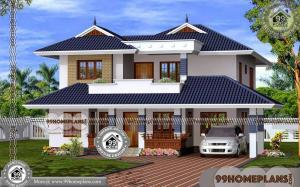 Indian Small House Designs | 90+ Small Two Story House Design Plans