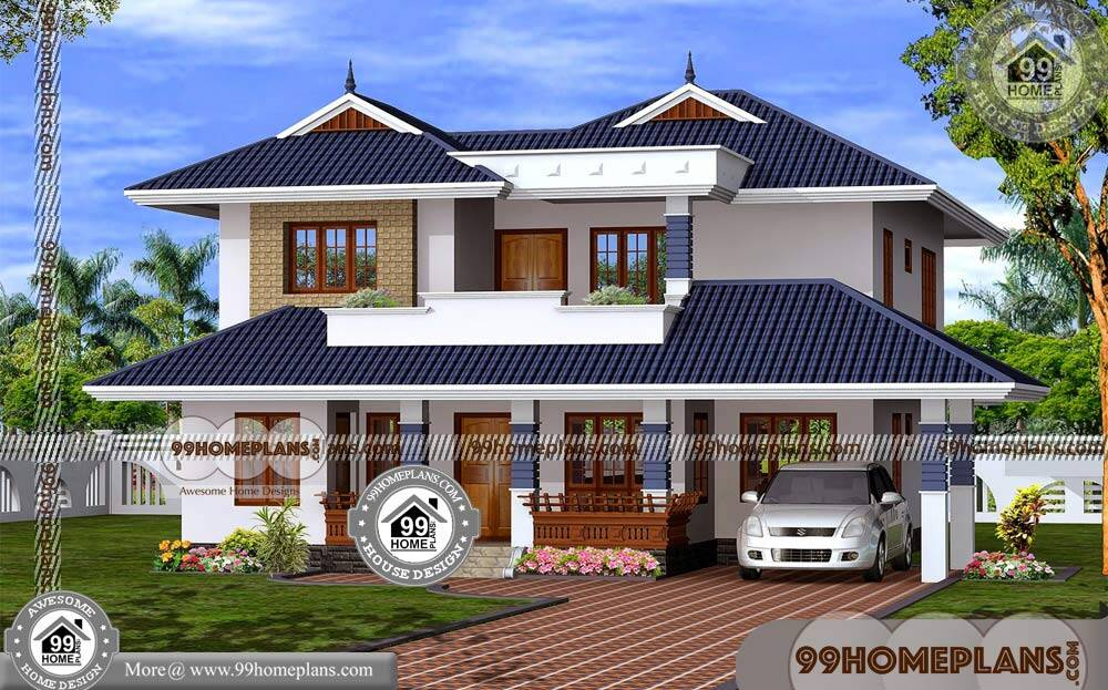 Indian Small House Designs 90 Two Story Design Plans