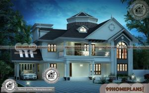 Kerala Homes Photos 70+ Two Storey Small House Design Modern Plans