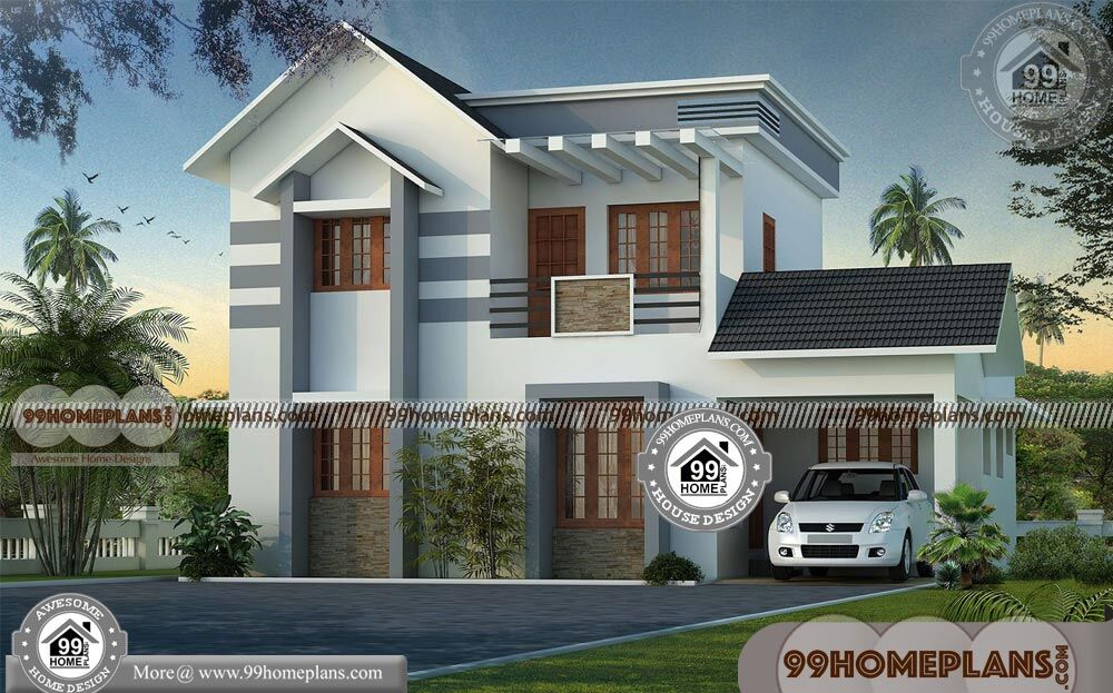 Kerala House Photos and Plans | 90+ Best Double Storey House Plans