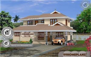 Kerala House Style Plans Online | 80+ Two Story Simple House Plans