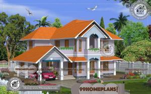 Kerala Model Homes 60+ Two Story Small House Floor Plans Collections