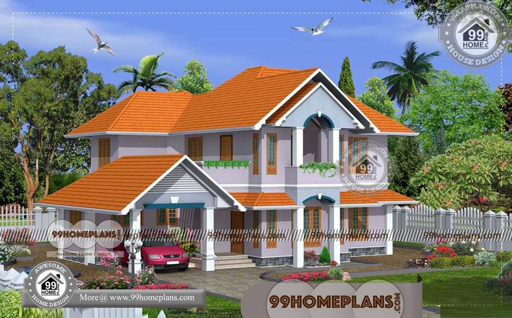 kerala model homes 60 two story small house floor plans