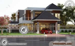 Kerala Small House Plans with Photos | 60+ Double Storey House Plans