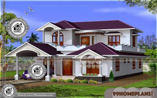 Kerala Style House Plans Within 2000 Sq Ft Small Two Story House Plan
