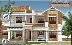 Latest House Models in India | 70+ Double Storey Modern House Designs