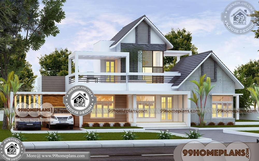 Low Construction Cost House Plans | 80+ Double Story Home Plans Free