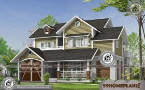 Modern And Simple House Designs 80+ 2 Story House Plans With Balcony