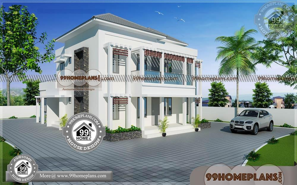 Modern Contemporary Home Plans 80+ Free Small Two Story Floor Plans