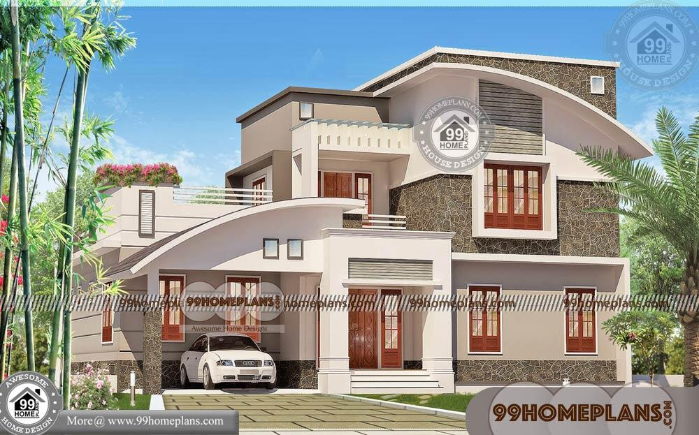 Modern Design Homes 100+ 2 Floor House Plans Latest Free Collections