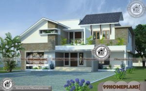 Modern Home Design Ideas 70+ Double Storey Home Plans New Designs