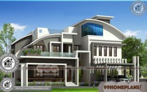 Modern Homes Design | 80+ New Two Story Homes Online Free Plans