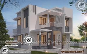 Modern House Blueprints | 90+ Beautiful Double Story Houses Collections