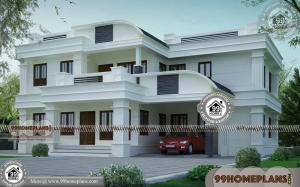 Modern House Design Two Storey | Contemporary House Kerala Designs