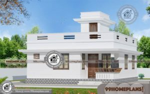 Modern House Designs Single Floor | 69+ Low Cost House Plans & Ideas