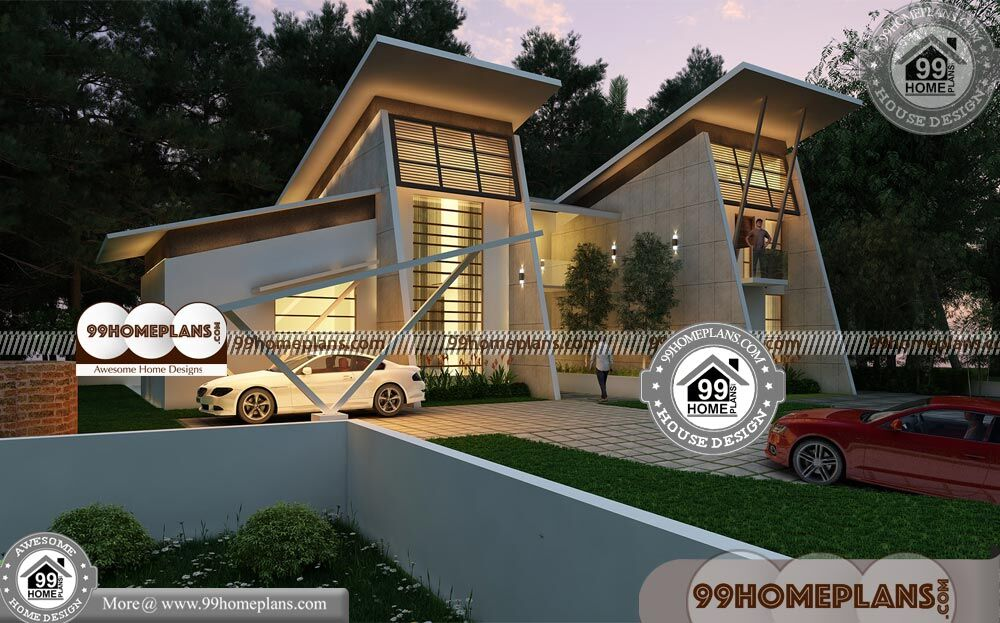Modern House Plans Narrow Lot 70+ 2 Storey House Design Collections