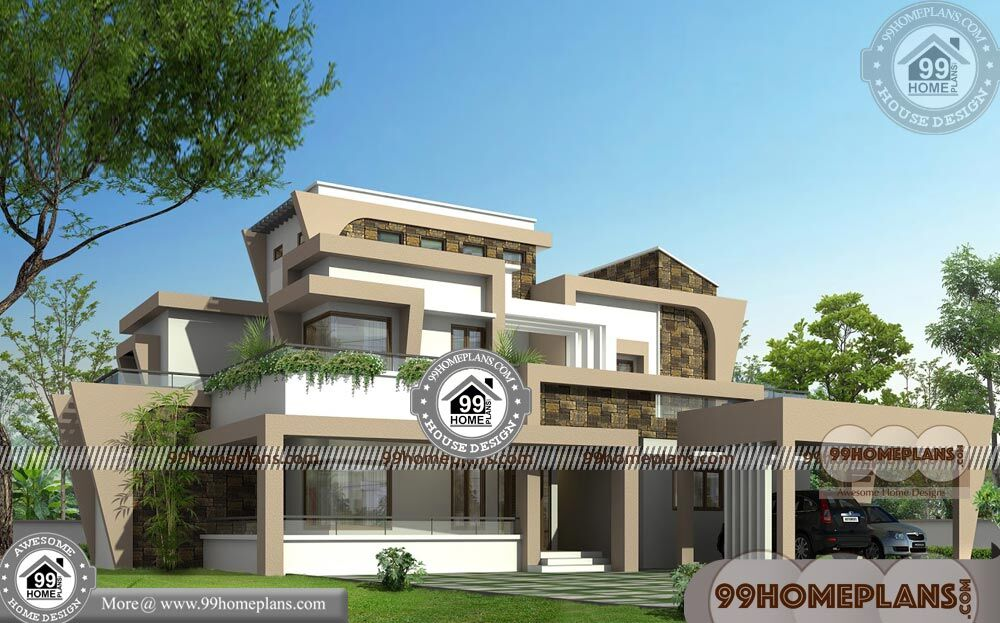 Modern New House Plan | 90+ House Plan Design Two Storey Collections