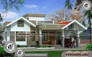 Modern One Story House Plans | 90+ Contemporary Houses Plans Online