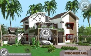Modern Residential House Design 70+ Double Storey House Elevation