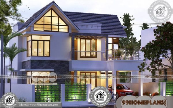 Most Economical House Plans | 90+ Double Story House Design Plans