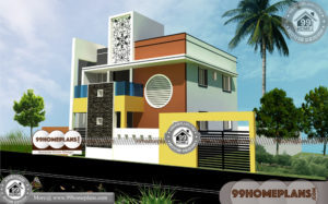 Multi Family House Plans Narrow Lot | 90+ Double House Design Online