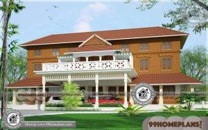 Nalukettu Style House Plan 90+ Two Storey Home Plans Traditional Model