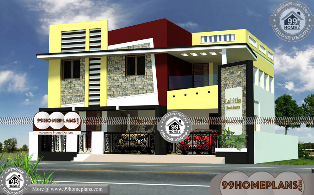 Narrow Lot Plans with Garage 70+ Double Storey Duplex Designs Online