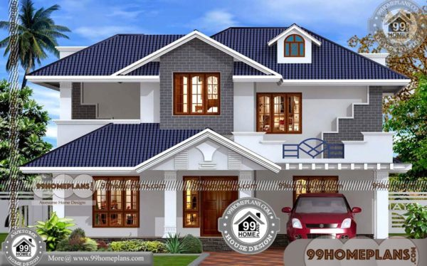 Modern Double Story House Plans Online