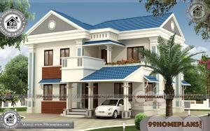 New House Models in India | 90+ Two Storey Residential House Floor Plan