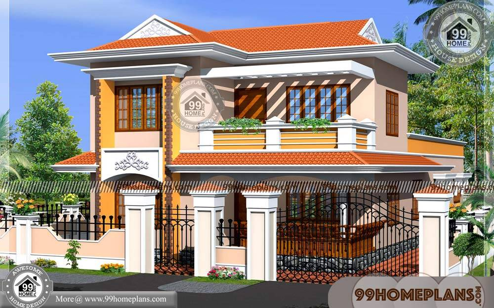 New Kerala Homes 70+ Modern Double Story House Designs Collections