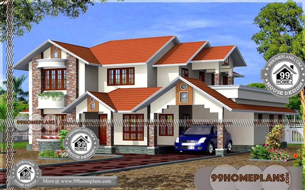 New Kerala House Models & 90+ Basic 2 Story House Plans & Collections