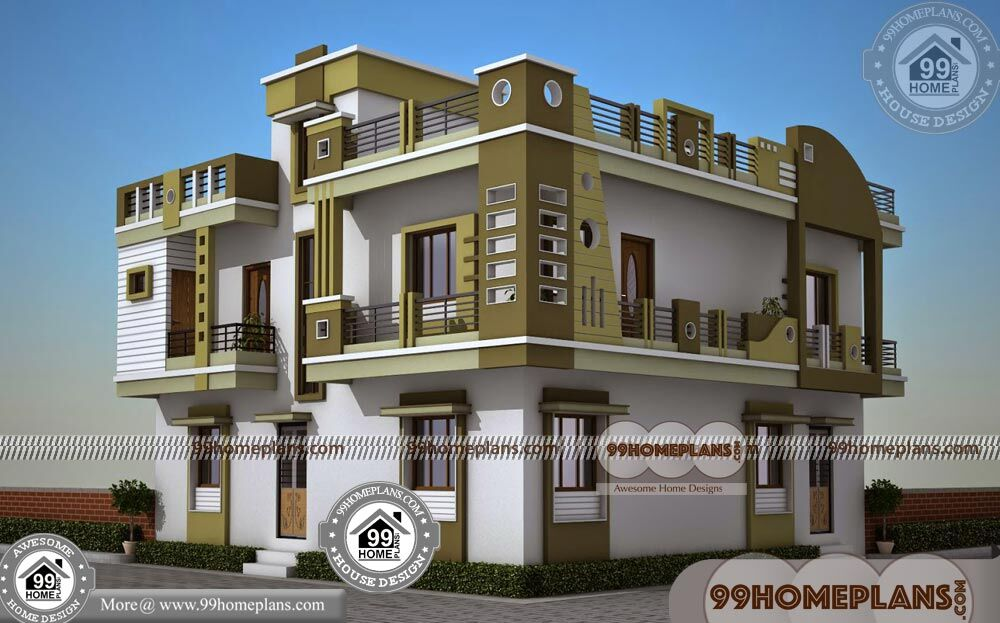 New Style Kerala Homes 50+ Double Storey Homes Plans Collections
