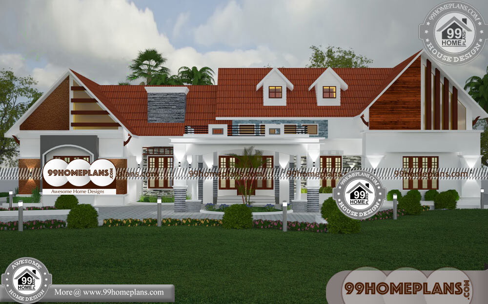 One Story Dream Homes & 80+ 2 Storey House Design Pictures Online