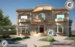 Plan for Bungalow House & Modern House Two Storey Home Floor Plans
