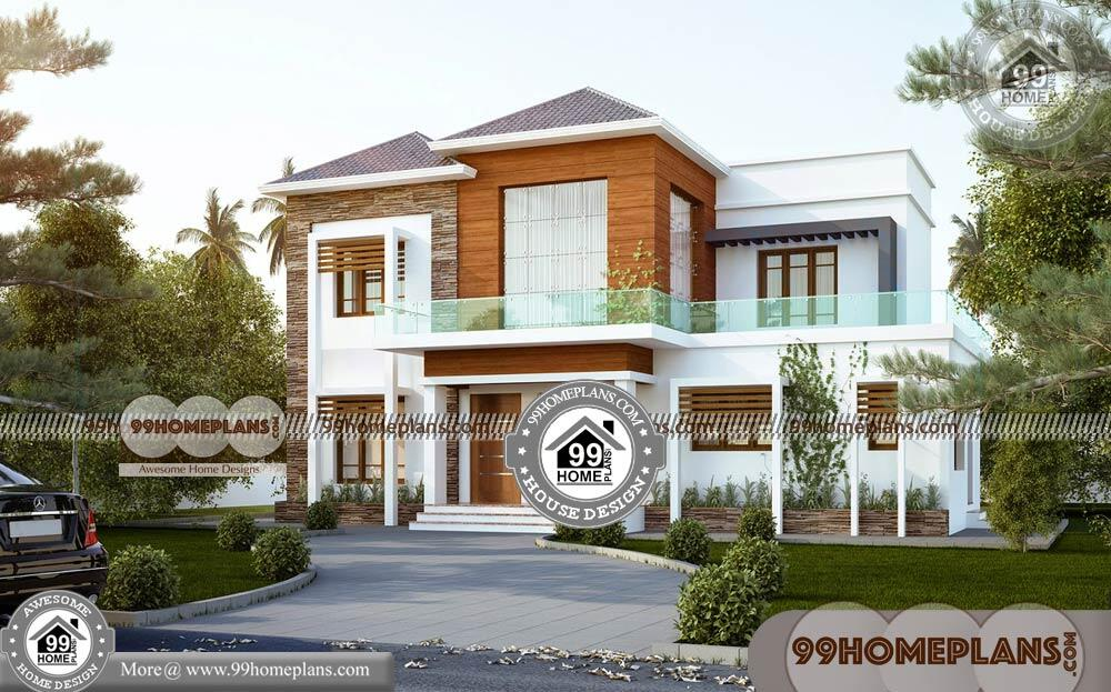 plans-for-double-storey-houses-50-modern-contemporary-house-design Small Bedroom House Designs South Africa on