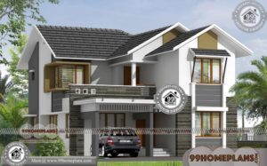 Simple and Modern House Design 60+ Latest Double Storey Homes Plans