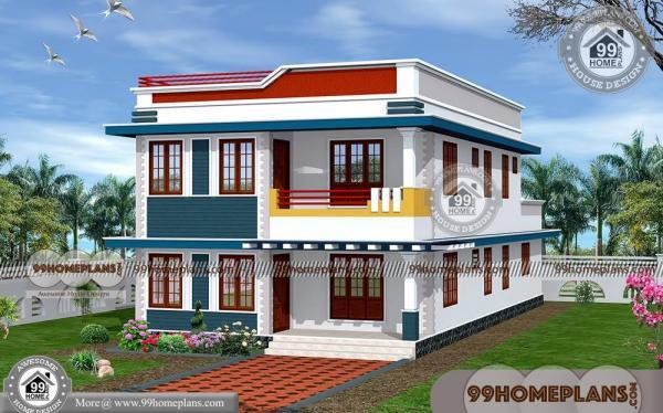 Double Story House Elevation Kerala : Simple house plans in kerala style double storey