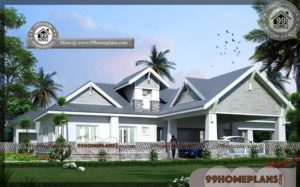 Single Floor House Model 75+ Simple Contemporary House Design