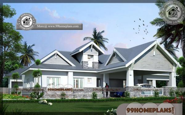 Single Floor House Model 75 Simple Contemporary House Design