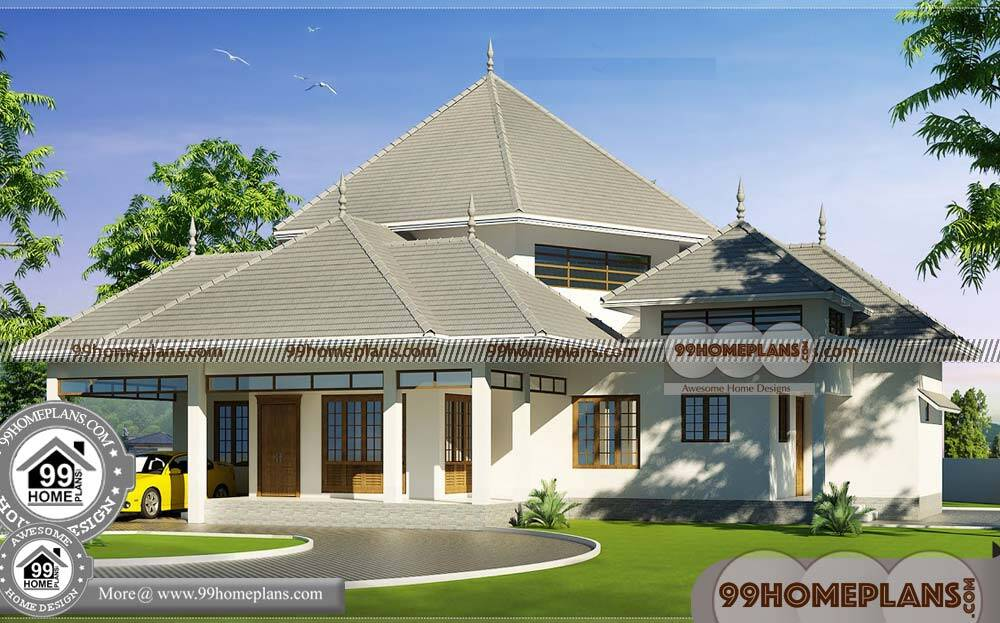 Single Level Modern House Plans 90+ Traditional House Designs & Ideas