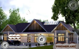 Single Storey Contemporary House Designs 80+ Modern & New Plans