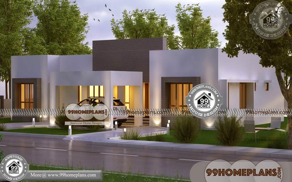 Single Storey Modern House Plans 90+ 1 Floor Home Design Collections