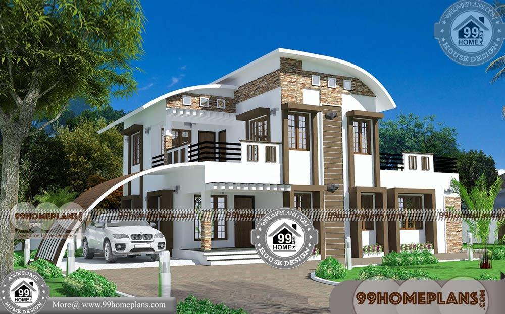 Small Affordable Home Plans | 90+ Modern Double Storey House Plans