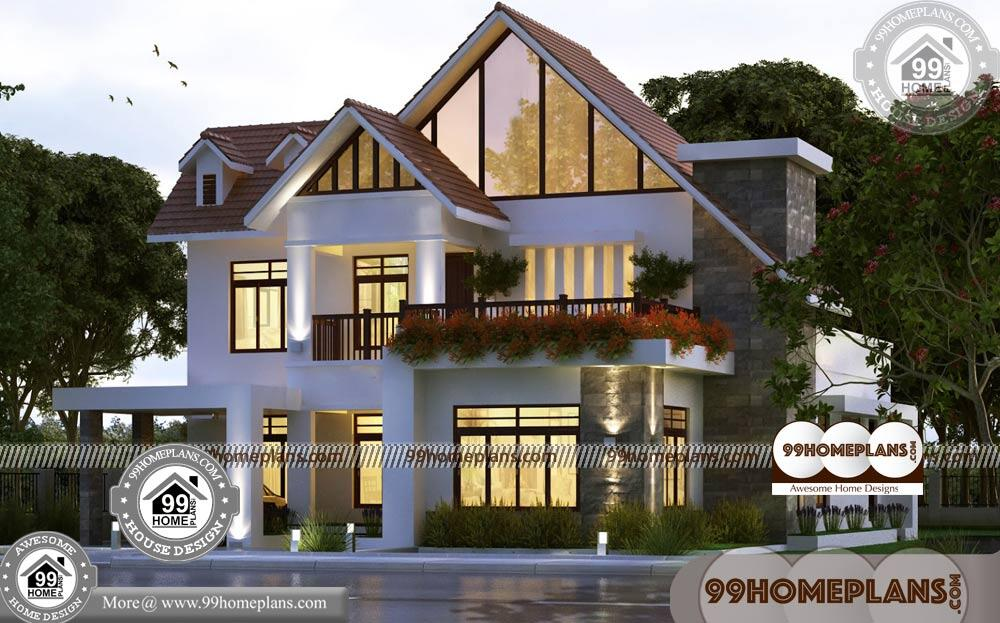 Small Home Plans and Prices 90+ Double Story Homes Designs Online