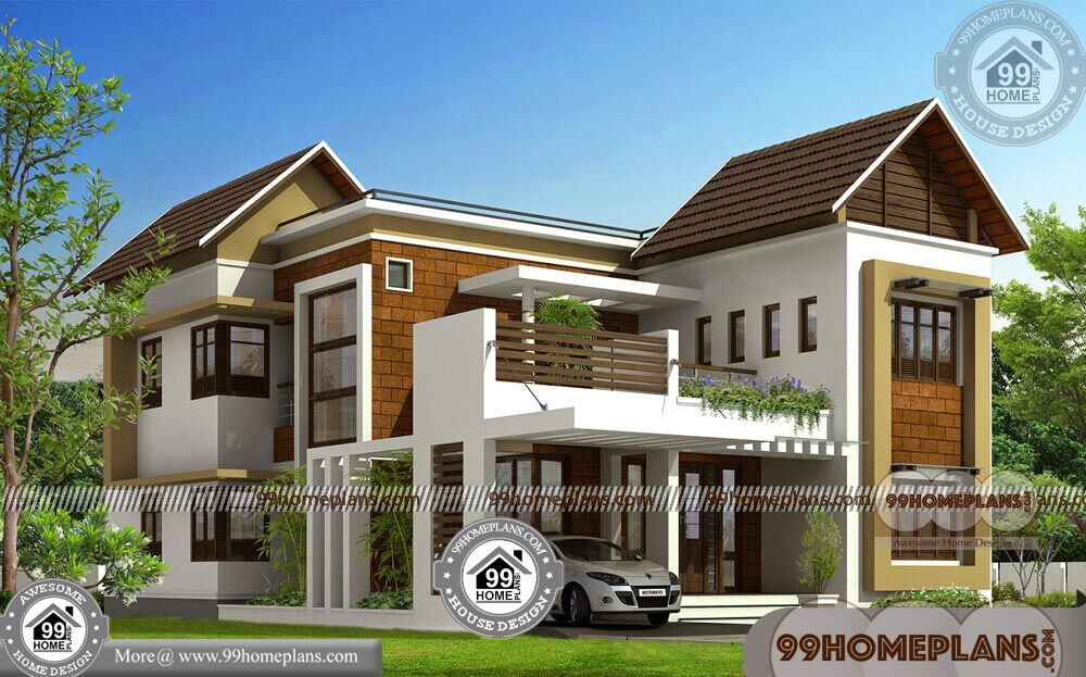 Small Homes Plans and Designs | 90+ Design For Two Storey House Plan