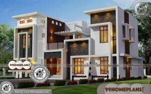 Small House Designs and Floor Plans & 49+ Double Storey House Plans