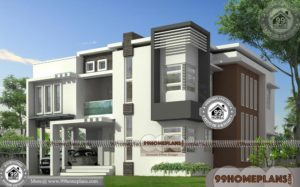 Small House Designs With Garage | 90+ Double Storey Balcony Design