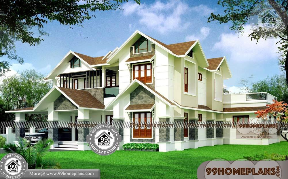 Small House Plans and Designs 70+ Latest Double Storey Homes Plans